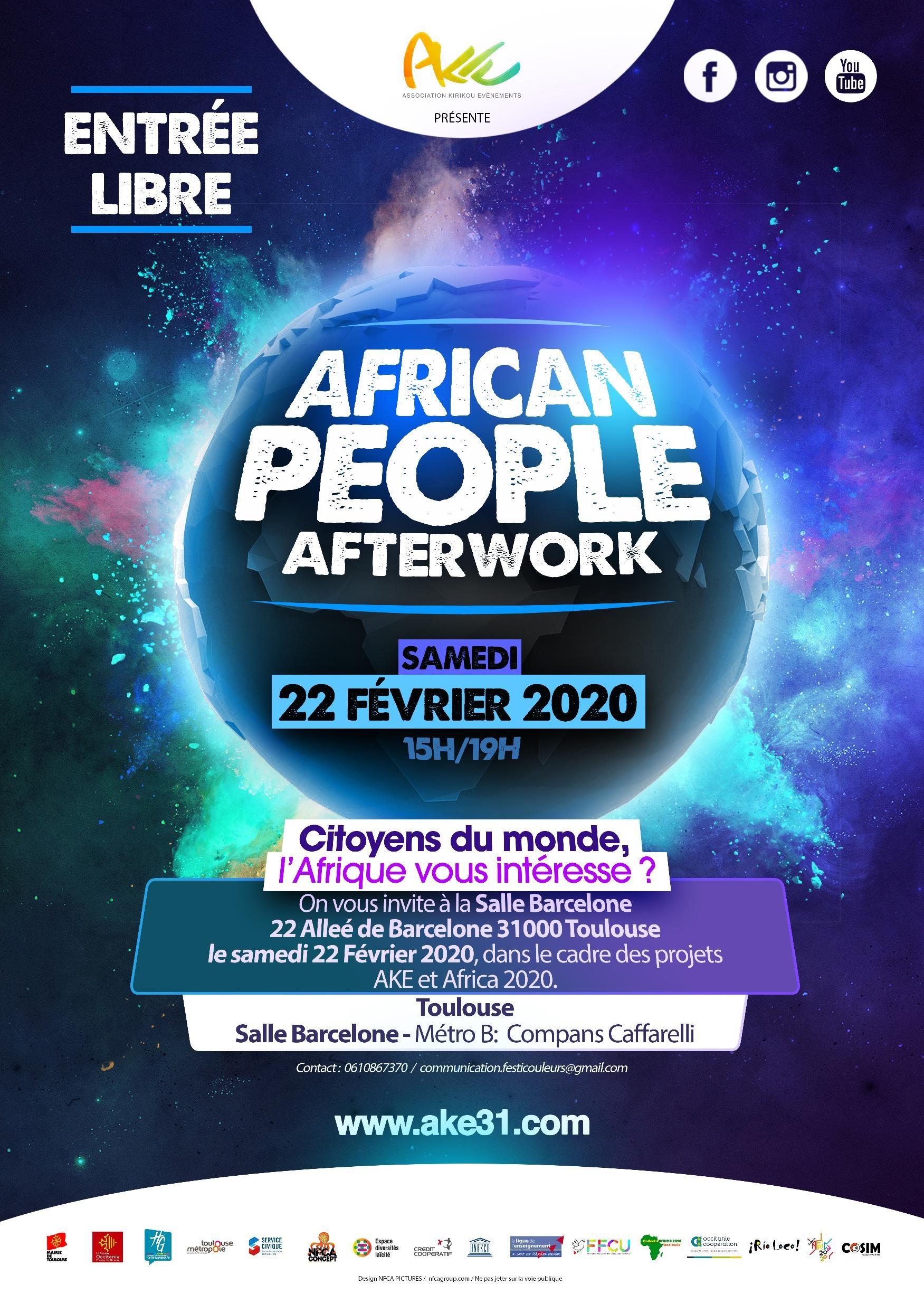 African People Afterwork
