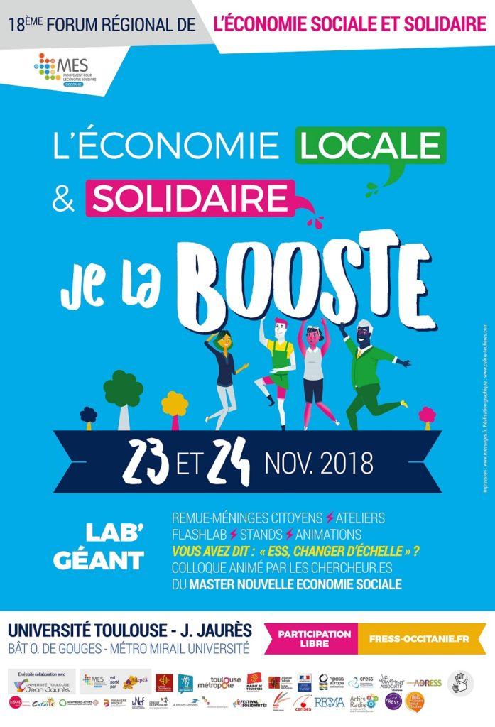L'économie locale et solidaire, je la booste !